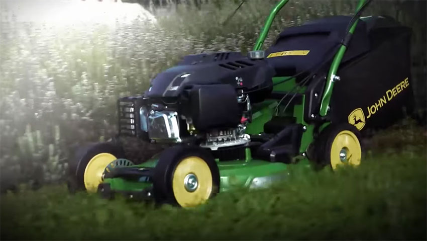 John Deere: the new mower Pro 47V