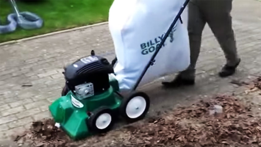Billy Goat LB352: the vacuum cleaner small gardens