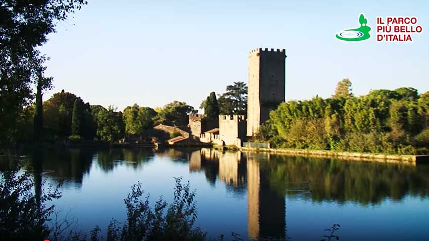 The Garden of Ninfa, the most beautiful private park