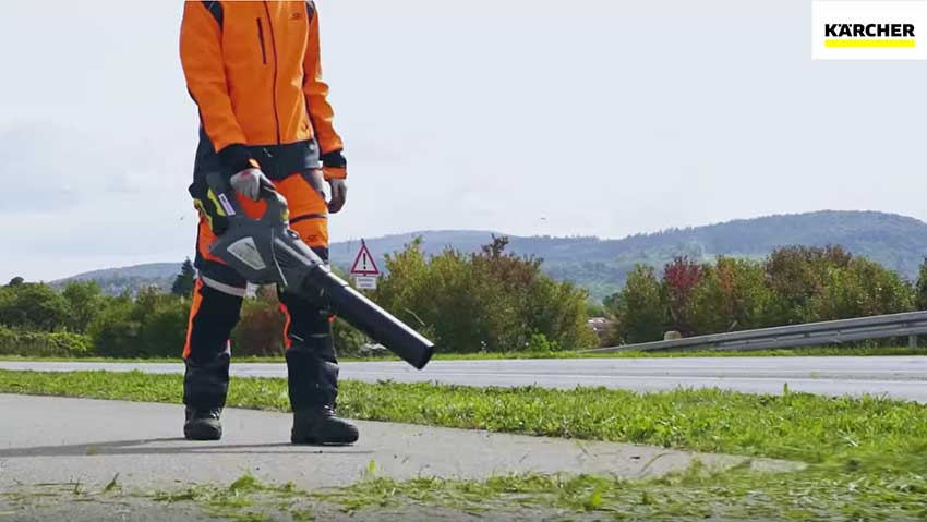 Kärcher: machines for the maintenance of green