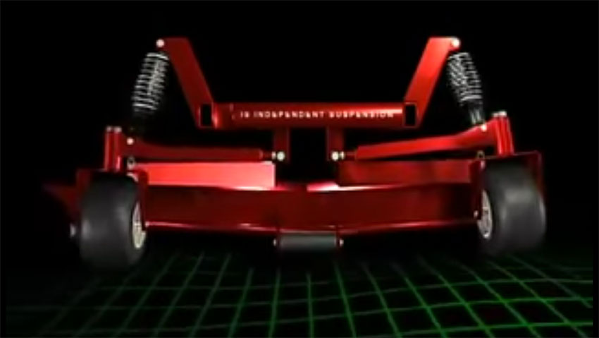 Ferris mower suspension: how they work