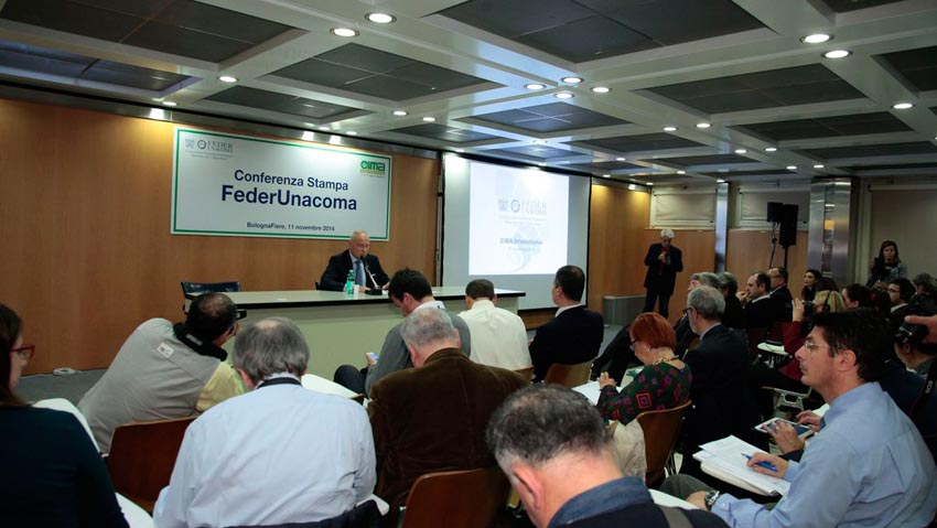 Meeting and Press Conference FederUnacoma