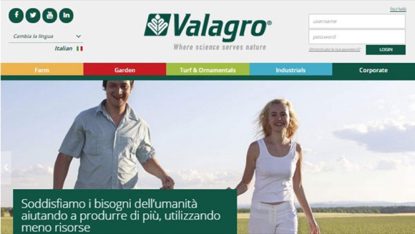 New Website for Valagro