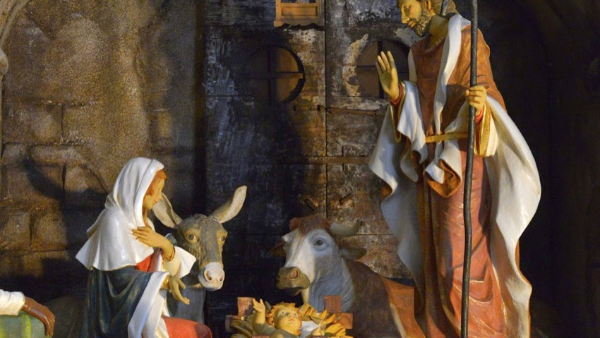 The crib of the Pope comes from Verona