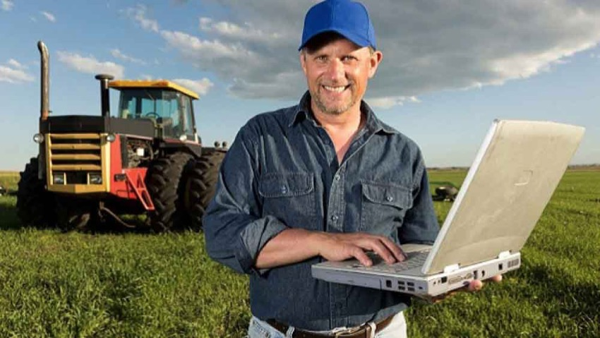 Technological farmers harvest the