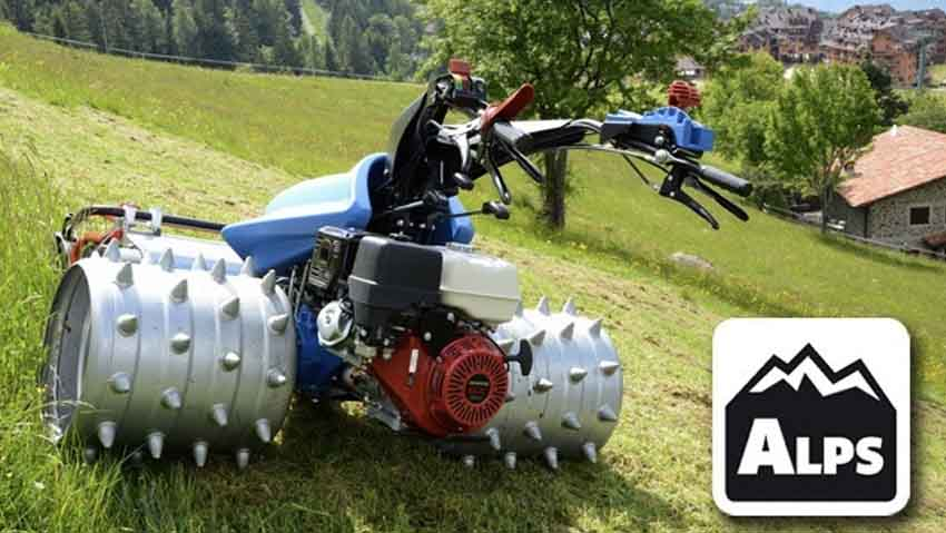 Alps new engines for steep angles