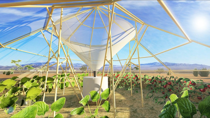 The tent ortho fighting drought in Africa