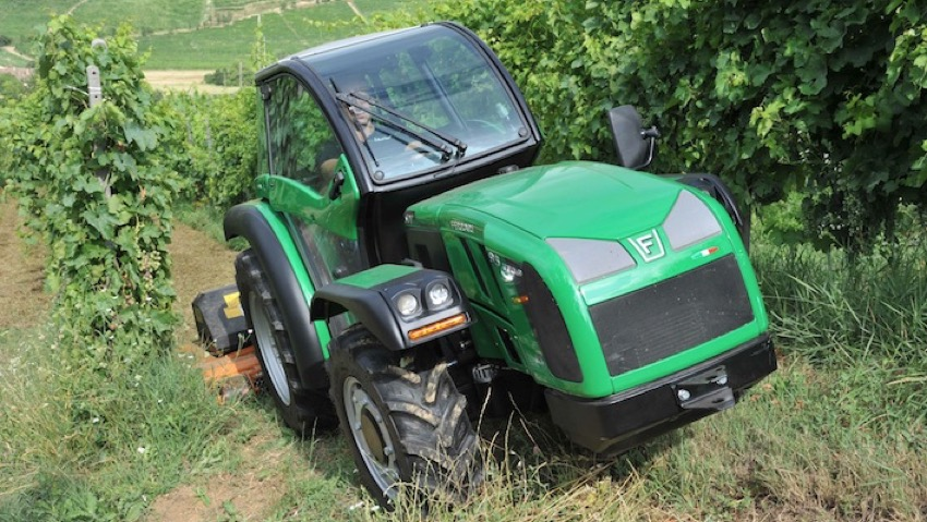 Bcs, new line of tractors for vineyards and orchards