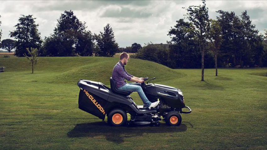 Tractors, the latest arrivals for cutting grass