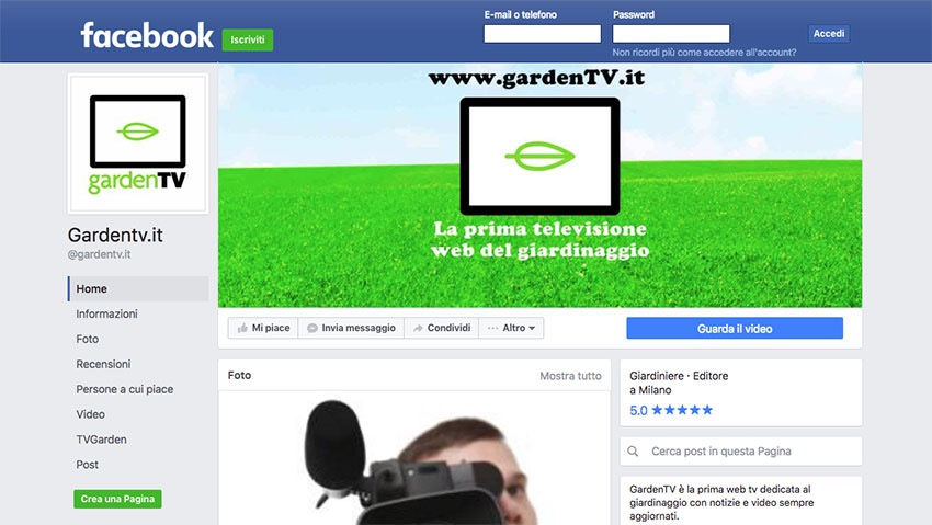 GardenTV, born on the web for the web!