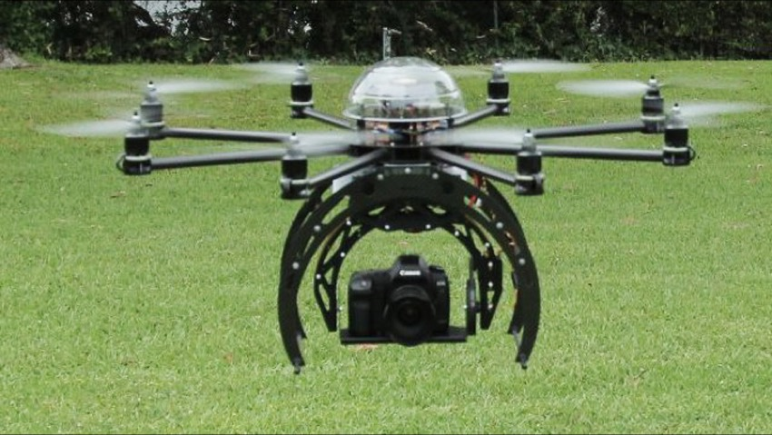 The drones in the country for precision farming