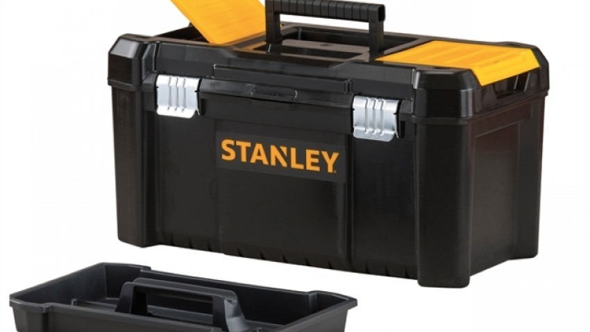 Tools in order with the Stanley tool