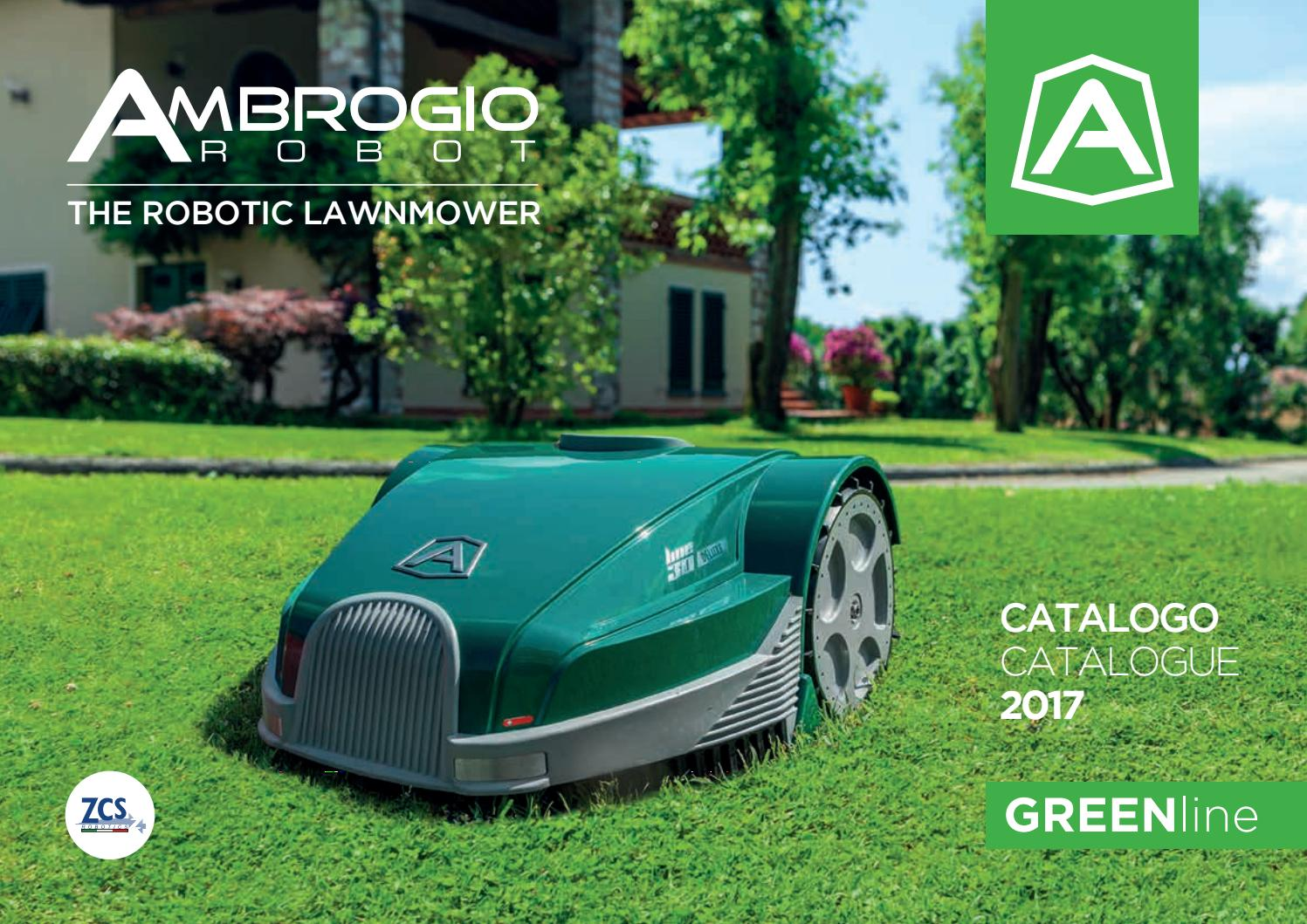 Robot lawn mower - Catalogue Ambrose Greenline
