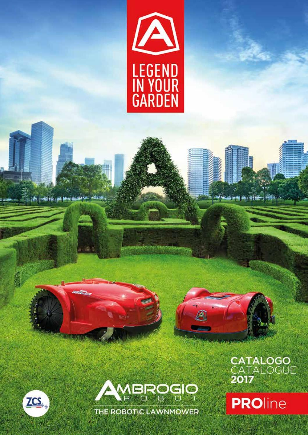 Robot lawn mower - Catalogue Ambrose Proline