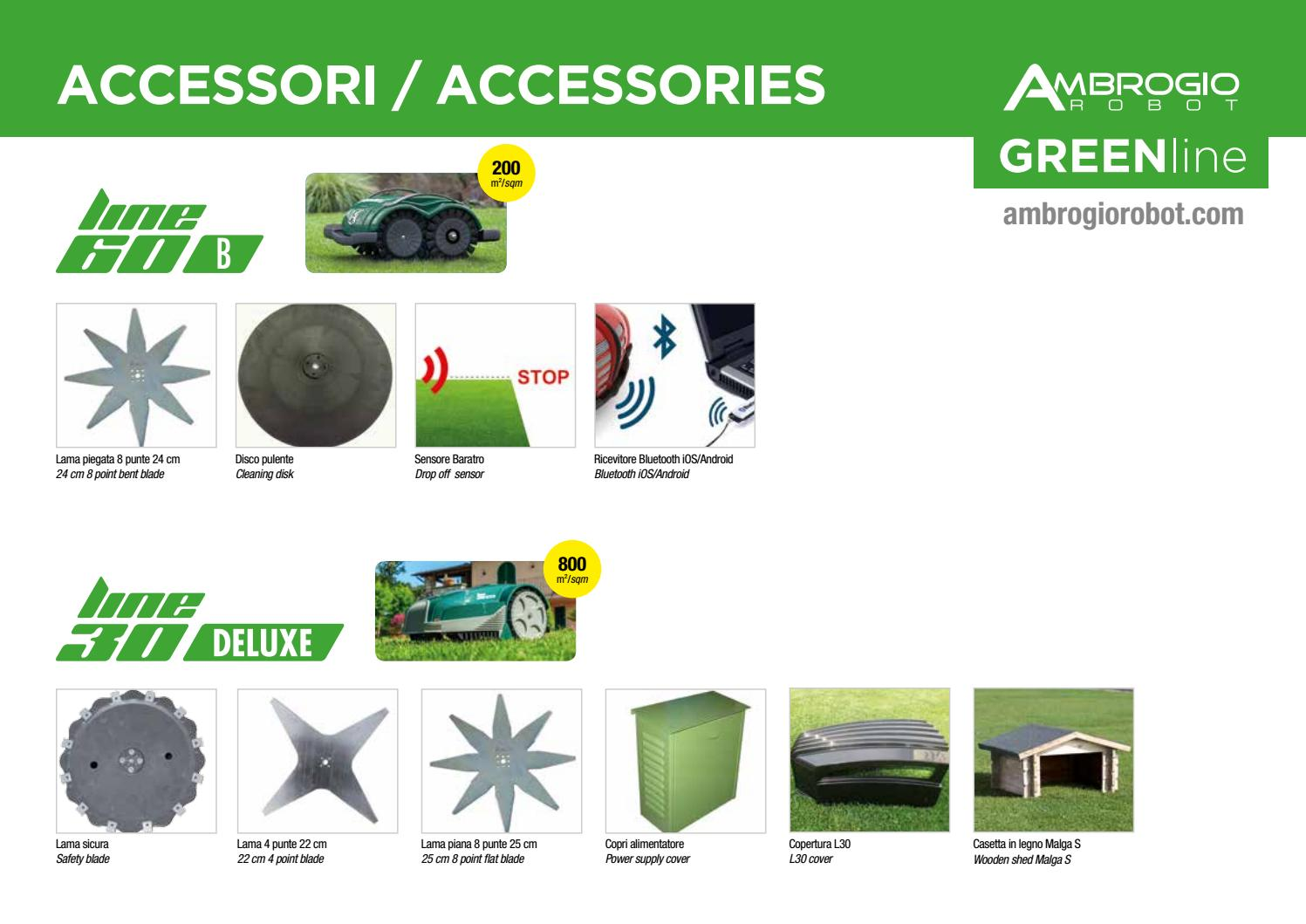 Robot lawn mower - Accessory Greenline